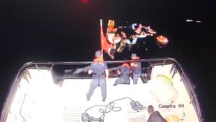 Yardım çığlıklarına Mehmetçik yetişti! 2'si bebek 15 kişi böyle kurtarıldı