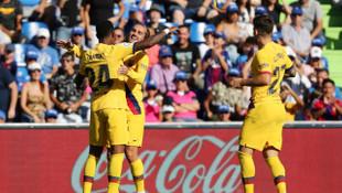 Getafe 0 - 2 Barcelona (La Liga)
