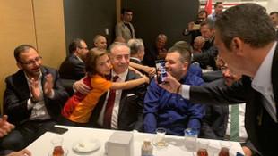 Galatasaray - Fenerbahçe derbisinde anlamlı fotoğraf