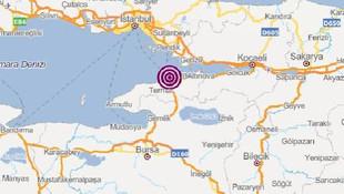 Marmara Denizi'nde hissedilen bir deprem daha