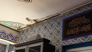 Silivri'de hasarlı 2 cami mühürlendi