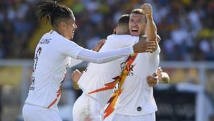 Lecce 0 - 1 Roma