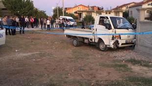Kamyonet çocukları ezdi: 1 ölü,1 yaralı