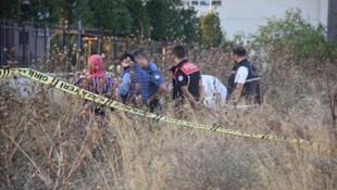 Okul yanındaki boş arazide erkek cesedi bulundu