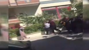 Ankara'da polis memuruna linç girişimi