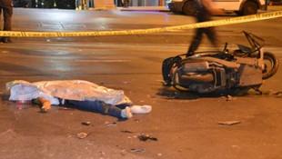 İstanbul'da korkunç kaza: 1 ölü, 1 yaralı !