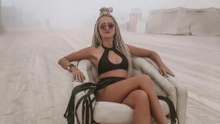 Dünyanın en çılgın festivali Burning Man'den kareler