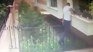 İstanbul'un ''örümcek adam'' hırsızları kamerada