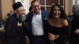 Cübbeli Ahmet, Sevilay Yılman ve Lütfü Türkkan düğünde buluştu