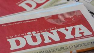 Dünya gazetesinde 3 üst düzey istifa