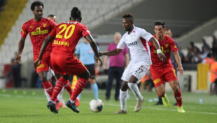 Gazişehir Gaziantep 1 - 1 Göztepe (Spor Toto Süper Lig)
