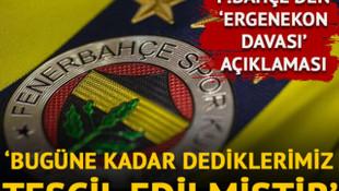 Fenerbahçe yönetiminden Ergenekon Davası hakkında açıklama