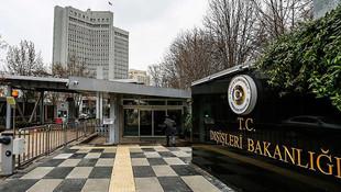 Lübnan'ın Ankara Büyükelçisi Bakanlığa çağrıldı
