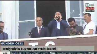 Düşman işgalinden kurtuluş töreninde İstiklal Marşı ayıbı
