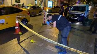 Kadıköy'de taksiye silahlı saldırı