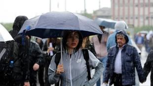 Meteoroloji tam 13 ili uyardı ! Yağış geri geliyor...