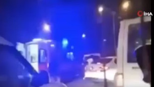 Ambulansla ambulans kovaladı !