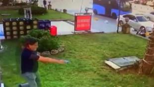 Senet çetesinin silahlı saldırı anları kamerada