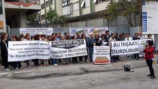 AK Partili belediye o vakfa hibe etmişti... İnşaat durduruldu