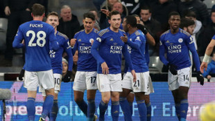 Newcastle United-Leicester City maç sonucu: 0-3