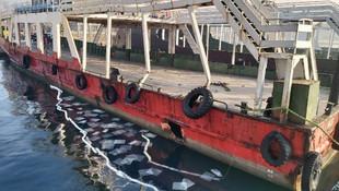 İstanbul'dan sonra Çanakkale Boğazı'nda tekne kazası