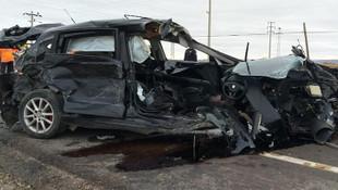 Aksaray'da kaza ! Çok sayıda yaralı var