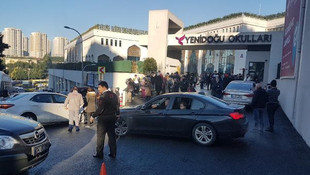 İstanbul'da korkutan yangın ! Okul tahliye edildi