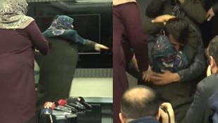 Diyarbakır'da nöbet tutan bir aile evladına kavuştu