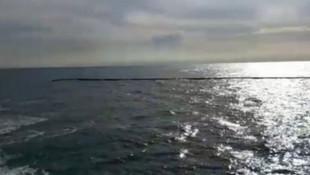 Türkiye'den KKTC'ye su taşıyan boru patladı