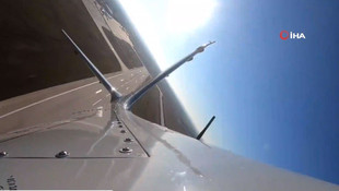 Türkiye'nin gururu Akıncı Taarruz İnsansız Hava Aracı havalandı!