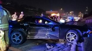 İstanbul'da korkunç kaza!