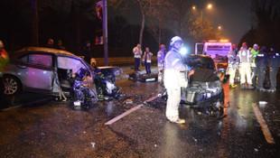 Sarıyer'de alkollü sürücü dehşeti ! Ortalığı birbirine kattı
