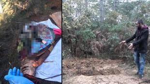 Ormanda cesedi bulunan kadının katili, oğlu çıktı