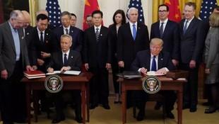 ABD ve Çin arasındaki savaşı bitiren imza !