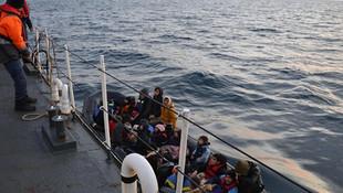 31 kaçak göçmen daha kurtarıldı