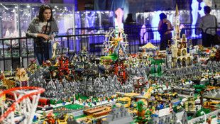 Lego tutkunları bu fuarda buluştu...