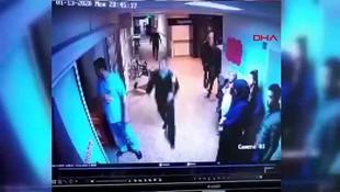 Doktora saldırı anının görüntüsü ortaya çıktı