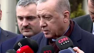 Erdoğan'dan İmamoğlu'nun mektubuyla ilgili flaş açıklama