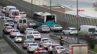 İstanbul trafiği arapsaçı! Sömestr trafiği başladı