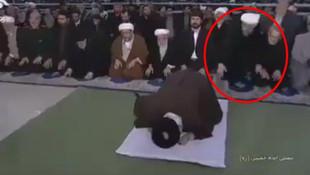 Ruhani'den dikkat çeken hareket ! Camiyi terketti !