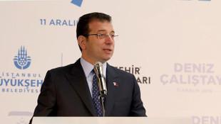 İBB Başkanı Ekrem İmamoğlu: ''Çatır çatır yıkacağız''