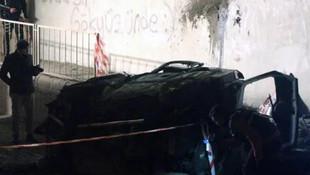 Köprüden uçup duvara çarpan 2 genç hayatını kaybetti