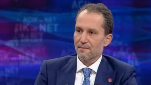 Yeniden Refah Partisi Genel Başkanı Fatih Erbakan'dan ilginç açıklama