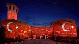 Asırlık Ankara Kalesi Başkent'te ışık saçacak