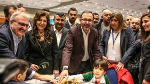 Türkiye satranç şampiyonaları Antalya'da başladı