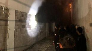 Ankara'da 13 katlı binada yangın paniği!