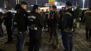 Jandarma polis drone'u düşürdü!