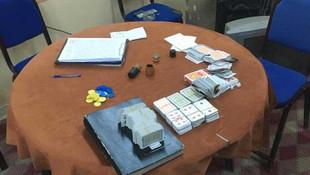 17 kişi kumar oynarken yakalandı !