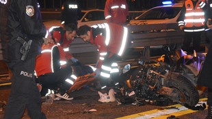 Metrobüs yolunda feci kaza: 1 ölü