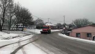 İBB video paylaşarak duyurdu; İstanbul'a kar geldi